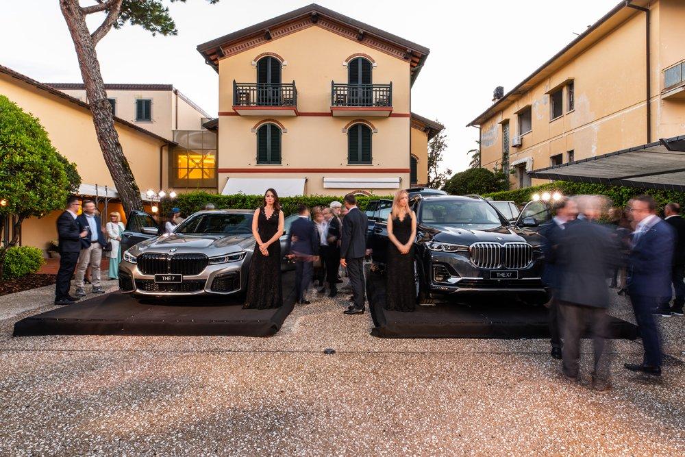 Evento BMW Serie 7 e X7